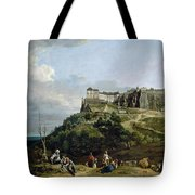 The Fortress Of Konigstein Tote Bag