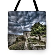 The Fortress The Tree The Clouds Tote Bag by Enrico Pelos