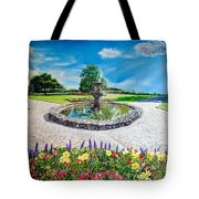Gushing Fountain Tote Bag