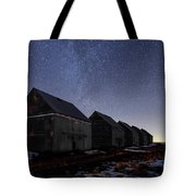 The Four Barns Of Drumheller Tote Bag