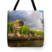 The Four Courts In Reconstruction 2 Tote Bag