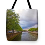 The Four Courts In Reconstruction 3 Tote Bag