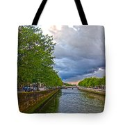 The Four Courts In Reconstruction 3 V2 Tote Bag