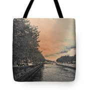 The Four Courts In Reconstruction 3 V4 Tote Bag