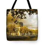 The Four Courts In Reconstruction Sepia Tote Bag
