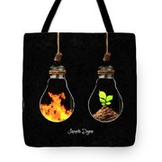 The Four Elements Tote Bag