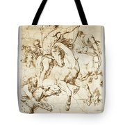 The Four Horsemen Of The Apocalypse Tote Bag