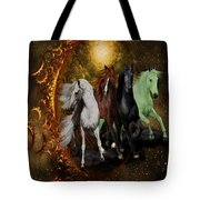 The Four Horses Of The Apocalypse Tote Bag