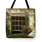The Four Leaf Clover Tote Bag by Winslow Homer