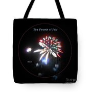 The Fourth Of July Tote Bag