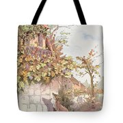 The Fox And The Grapes Tote Bag