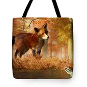 The Fox And The Turtle Tote Bag