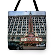 The Fox Theatre In Detroit Welcomes Charlie Sheen Tote Bag