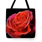 The Fractalius Rose Tote Bag