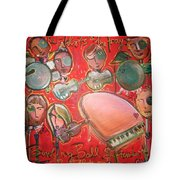 The Fray And The Flobots Tote Bag