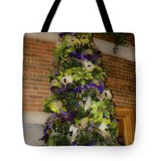The French Thistle Tree Fashions For Evergreens Hotel Roanoke 2009 Tote Bag