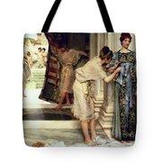 The Frigidarium Tote Bag by Sir Lawrence Alma-Tadema