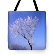 The Frost Like Ashes Tote Bag