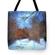 The Frozen Creek Tote Bag