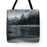 The Frozen Pond Tote Bag