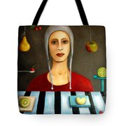 The Fruit Collector Tote Bag by Leah Saulnier The Painting Maniac