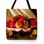 The Fruits Of Caravaggio Tote Bag
