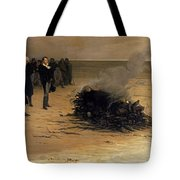 The Funeral Of Shelley Tote Bag