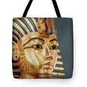 The Funerary Mask Of Tutankhamun Tote Bag