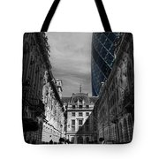 The Future Behind The Past Tote Bag by Yhun Suarez