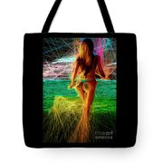 The Future Is Ahead Tote Bag