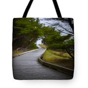 The Fuzzy Path To Nowhere Tote Bag