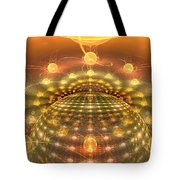 The Galactic Mirror Ball Tote Bag