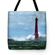 The Gale Of October Tote Bag