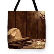 The Gambler Hat Tote Bag