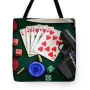 The Gambler Tote Bag by Paul Ward