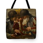 The Gamblers Tote Bag by Hendrick Ter Brugghen