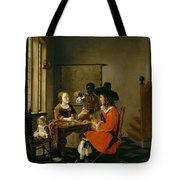 The Game Of Cards Tote Bag