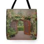 The Garden Door Tote Bag