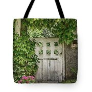 The Garden Door - V Tote Bag