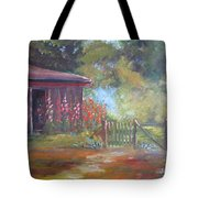 The Garden Gate Tote Bag