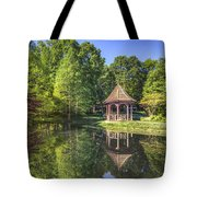 The Garden Gazebo Tote Bag