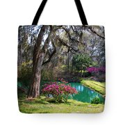 The Garden In The Abbey Tote Bag