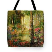 The Garden Of Enchantment Tote Bag