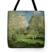 The Garden Of Hoschede Family Tote Bag