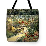 The Garden Of Manet Tote Bag