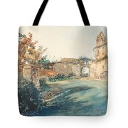 The Garden Of San Miniato Near Florence Tote Bag
