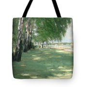 The Garden Of The Artist In Wannsee Tote Bag