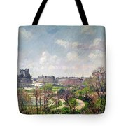 The Garden Of The Tuileries Tote Bag