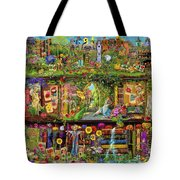 The Garden Shelf Tote Bag