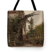 The Garden Steps Tote Bag